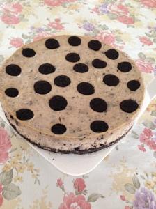Helen's cookies N cream cheesecake