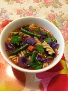 Helen's minestrone soup
