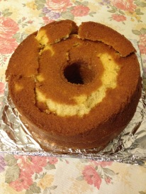 Double cream pound cake