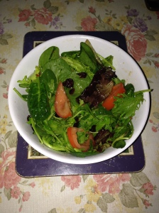 Salads with Thai Styles dressing