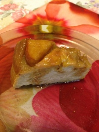 Banana and Apple cake with honey caramel cut up.jpg