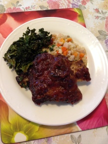 Beef rib with fried rice and kale chip.jpg