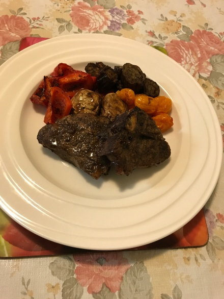 Rump steak with roasted vegetables.JPG