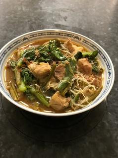 pork and vegetables in mee hoon soup.JPG