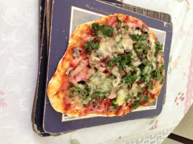Ham, kale olive mushrooms cloud pizza.jpg