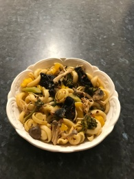 orrechiette mushrooms and vegetables in sambal chicken sauce.jpg