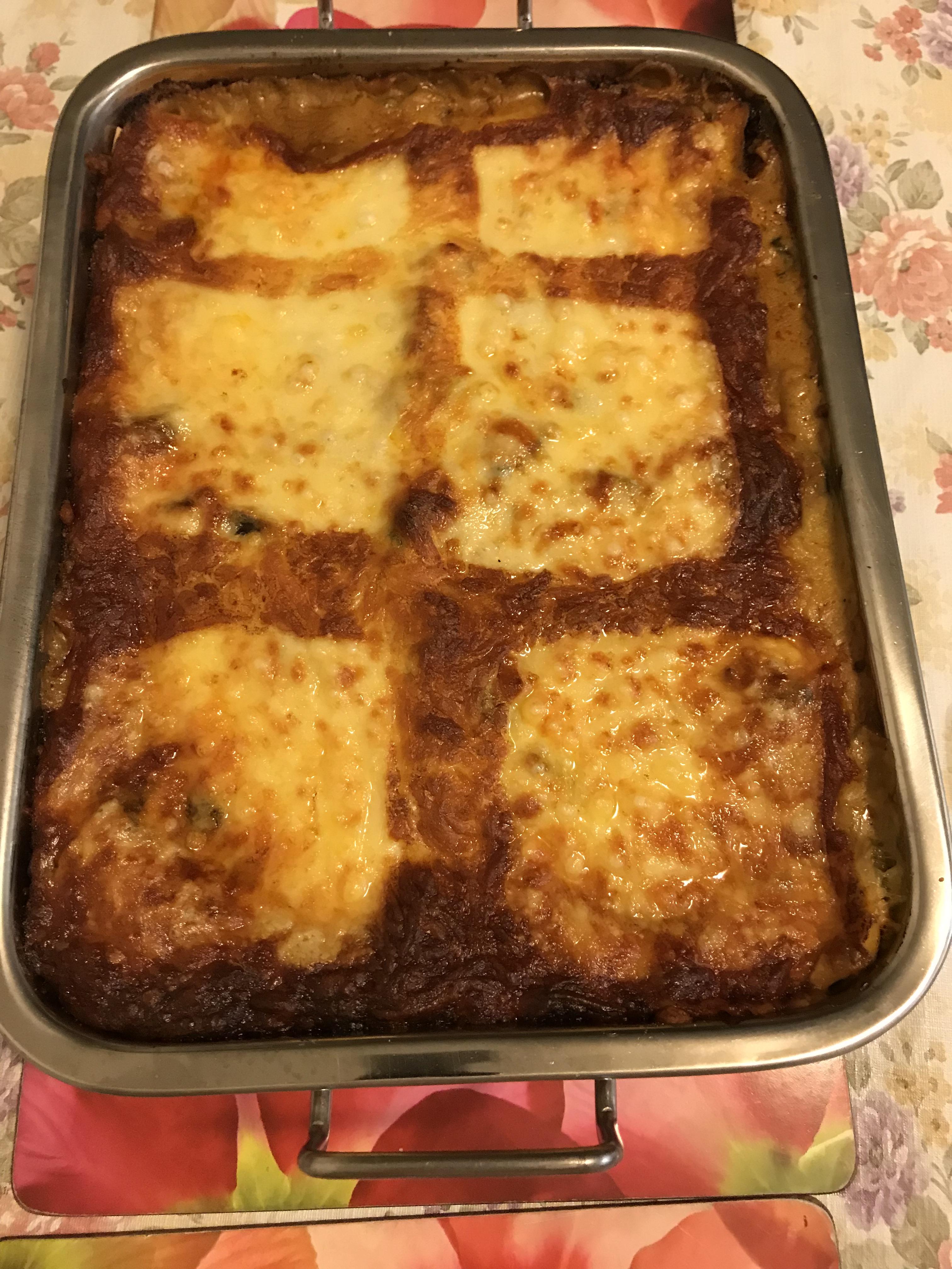 Veg lasagne ricotta tomato sauce3.JPG
