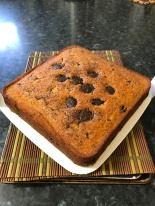 Chocolate craisins butter cake.JPG