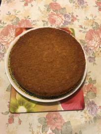 Helen's Japanese Castella cake.JPG