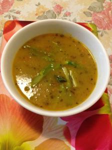 winter vegetables soup w asparagus